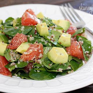 Avocado Grapefruit Spinach Salad Recipes