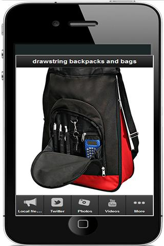 【免費購物App】drawstring backpacks and bags-APP點子