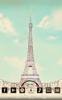 Screenshot of The Paris Atom theme (free)
