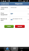 Screenshot of Praxedo