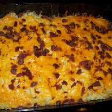 Addicting Cheesy Potato Casserole