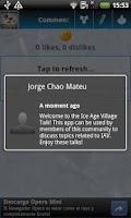 Screenshot of Ice Age Village Talk