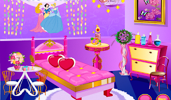 Screenshot of Princess Room Decoration
