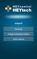 Screenshot of HEYcontrol - Haussteuerung