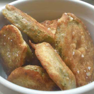 Okra-Fried Jalapenos