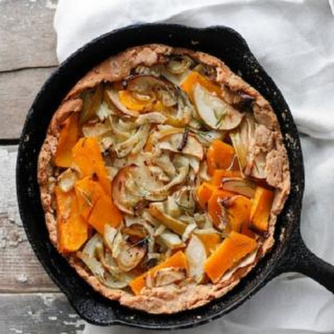 Butternut Squash & Apple Galette