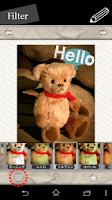 Screenshot of Text&filter Pic editor⇒Pixtage