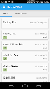 App iFont(Expert of Fonts) APK for Windows Phone