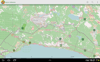 Screenshot of Geocaching.su