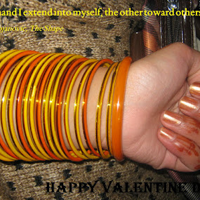 Bangles in Hand by Khalid Farooq - Typography Quotes & Sentences ( hand, dejan stonjanovic, valentine day, quote, hina, bangles, love, postcard, valentine's day,  )