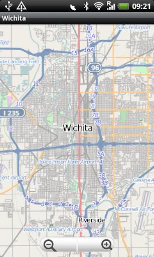 Wichita Street Map
