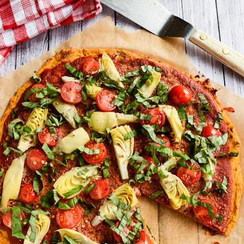 Sweet Potato Pizza Crust | Vegan & Gluten-Free