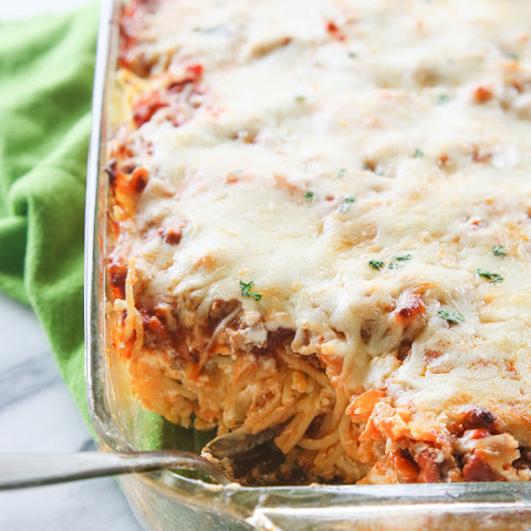 baked spaghetti with ricotta cheese