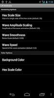 Screenshot of Live Wallpaper - Hex Scales