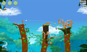 Screenshot of Angry Birds Rio