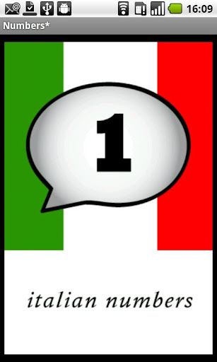Italian Numbers Demo
