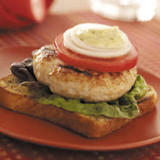 Open-Faced Turkey Burgers Recipe