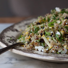 Quinoa with Currants, Dill, and Zucchini