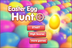 Screenshot of Easter Egg Hunt