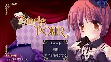 Screenshot of Single Poker