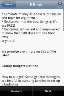 Family Budgeting Tips - screenshot