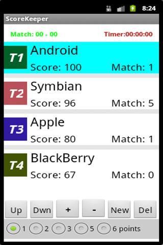 Score Keeper Free