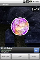 Screenshot of Mystic Clock
