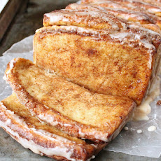 Cinnamon Pull Apart Bread with Apple Cider Glaze