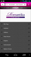 Screenshot of Радио Romantika