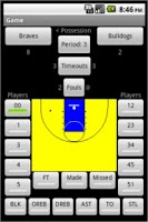 Screenshot of Basketball Scorebook & Charts