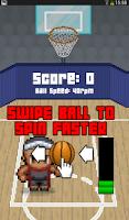 Screenshot of Basketball Spin