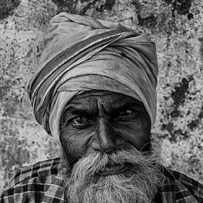 by Shishir Pal Singh - People Portraits of Men ( indianstreet, pal, indianmen, india, shishir singh )