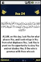 Screenshot of Ramadan Daily Dua 1 to 30
