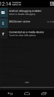 BBQScreen Remote Control Screenshot