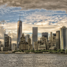 NYC by Doreen Rutherford - City,  Street & Park  Skylines