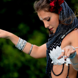 Bailey dancer by Maria Ferreira - People Musicians & Entertainers
