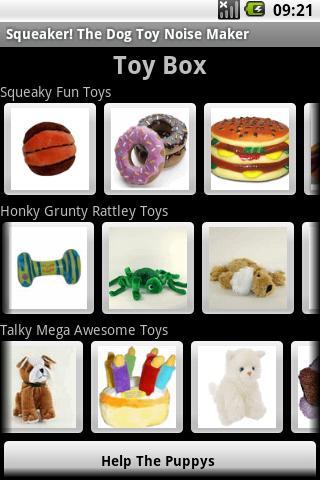 SQUEAKER Dog Toy Noise Maker