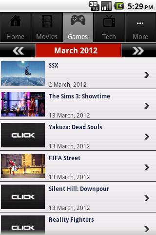 Click Calendar