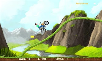Screenshot of Stunt ManiaBike Racing II