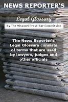 Screenshot of Law Glossary