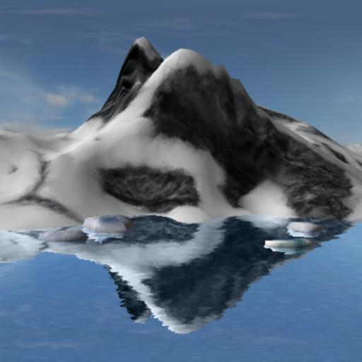 Reflected mountain LOGO-APP點子