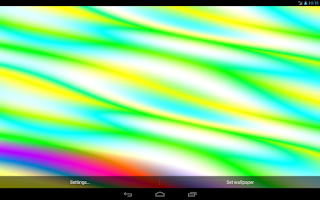Screenshot of PlasmaGL Live Wallpaper