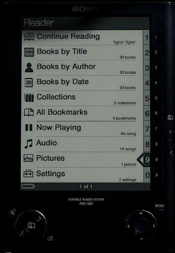 Kütyü – Sony PRS-505 ebook reader pimpelés