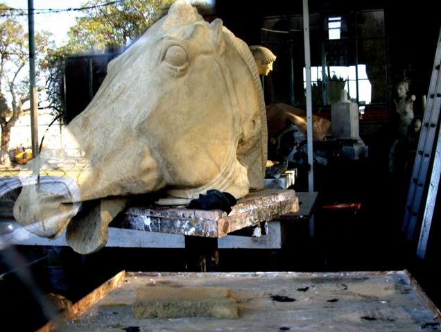 museo calcos caballo 2