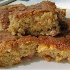 Simple Rhubarb Cake