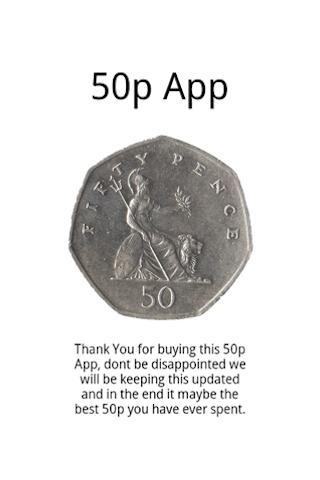The 50p App