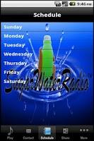 Screenshot of Sugar Water Radio