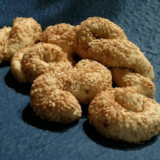 Sesame Koulourakia (Biscuits)