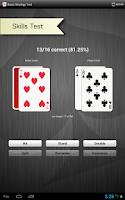 Screenshot of Learn Pro Blackjack Trainer™