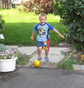 Here comes the kick